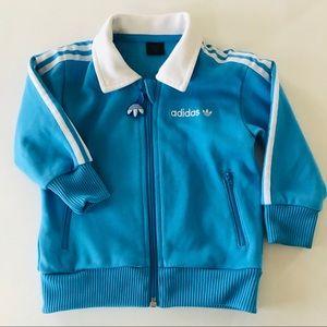 Adidas Baby Jacket Blue 18 Months Logo